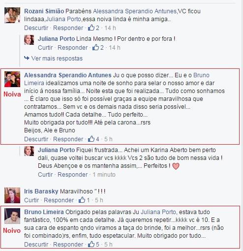 Agadecimento Alessandra e Bruno - New