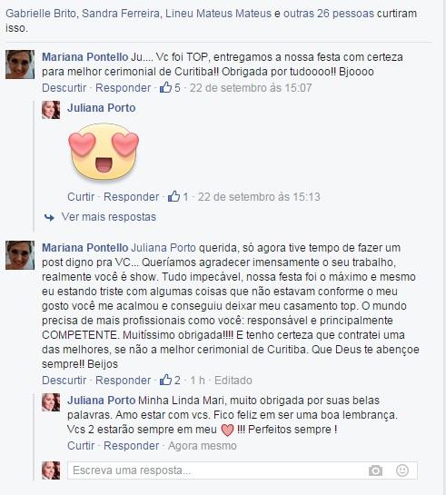 Agradecimento Mariana e Carlos Alberto - New